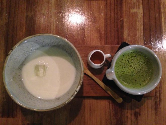 錦小路,抹茶牛奶