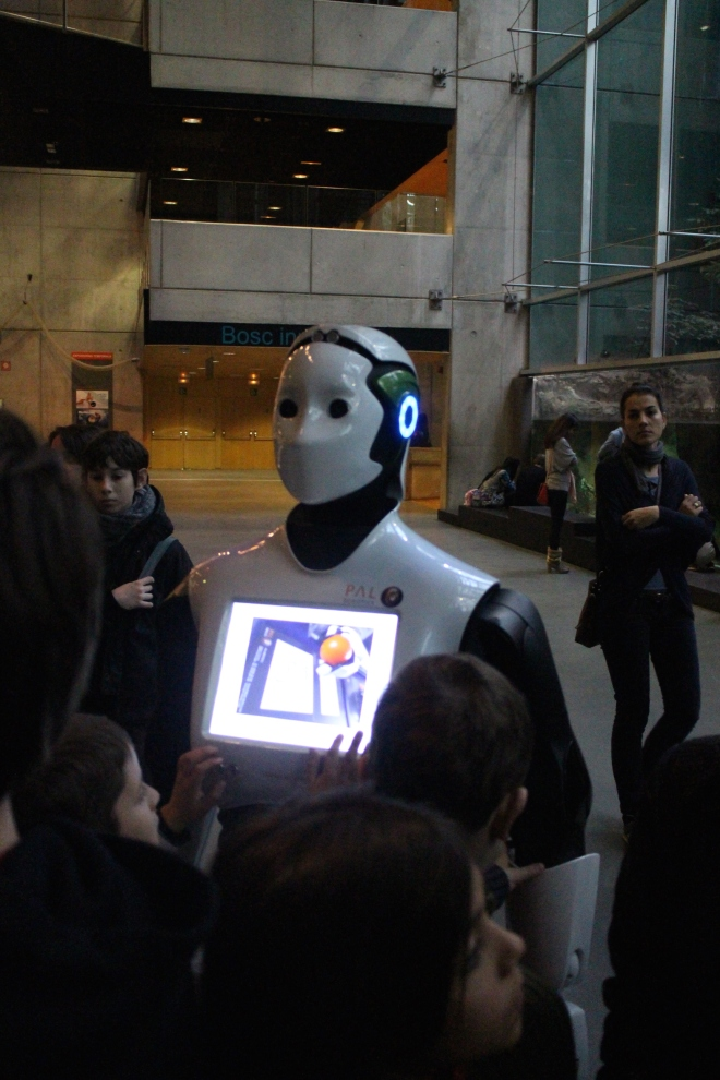 Robot in Barcelona