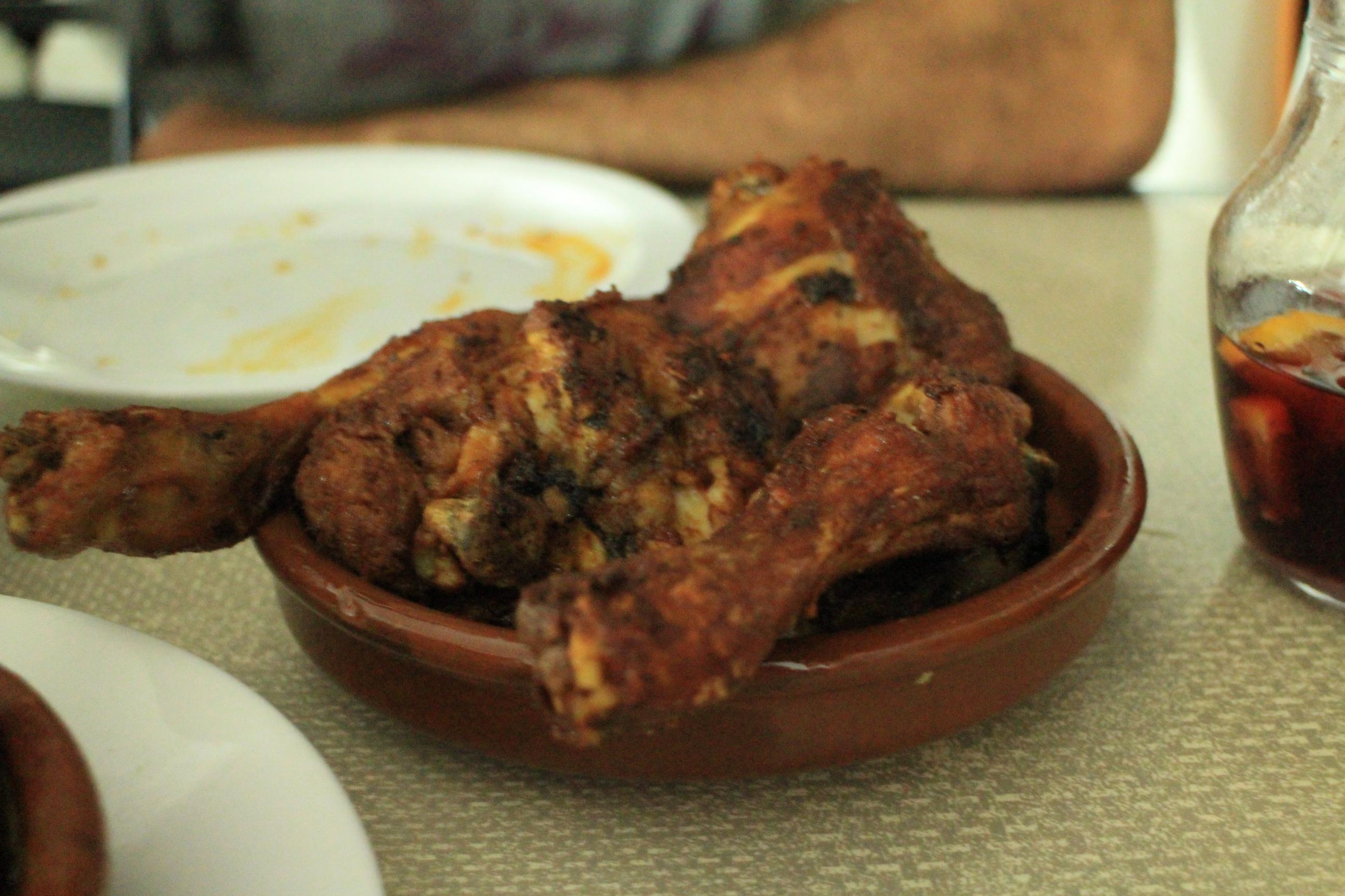 來Tenerife沒吃過Otelo的蒜香炸雞(Pollo al ajillo)不算來過!