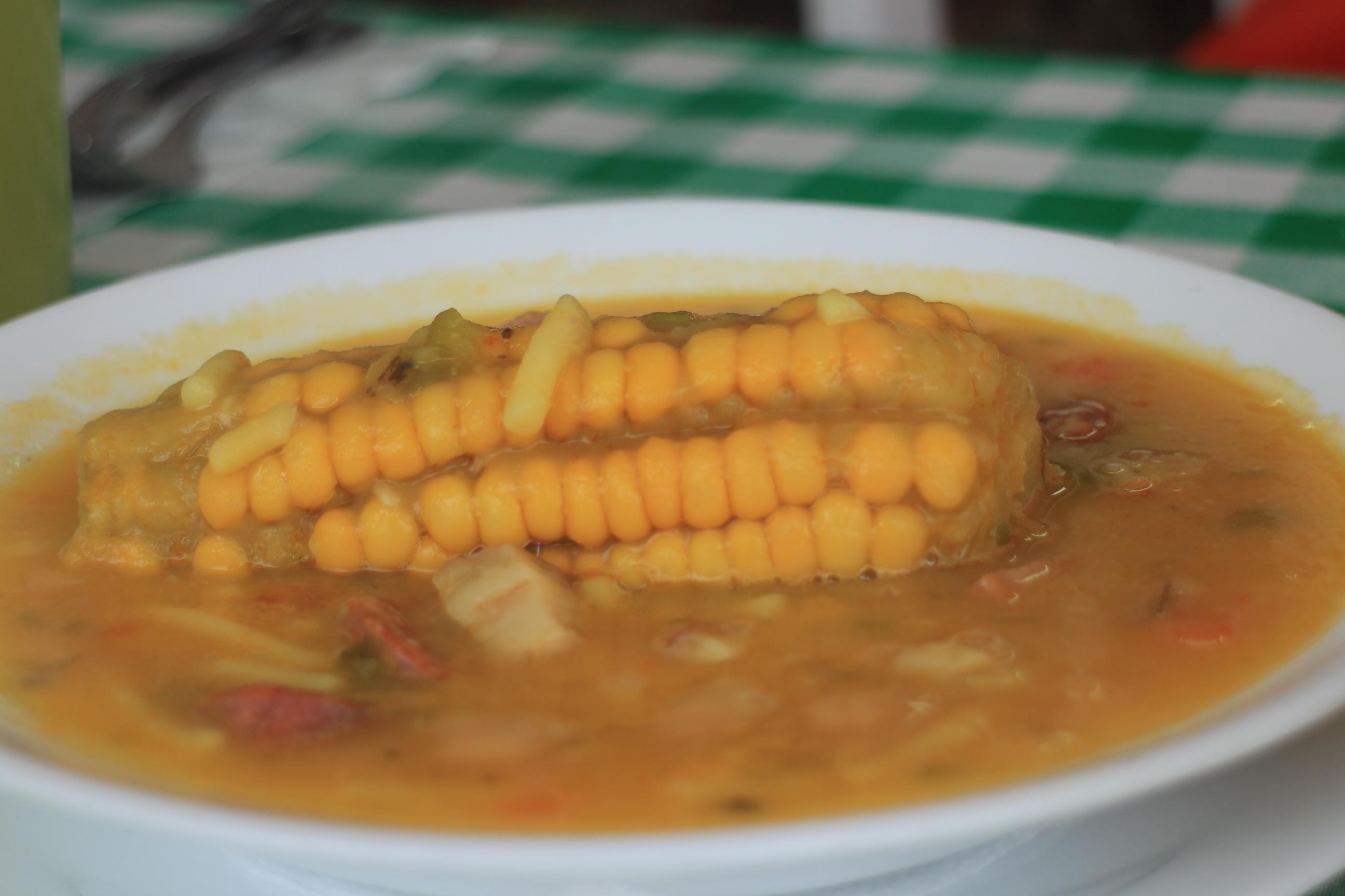 銷魂的玉米臘腸燉湯~