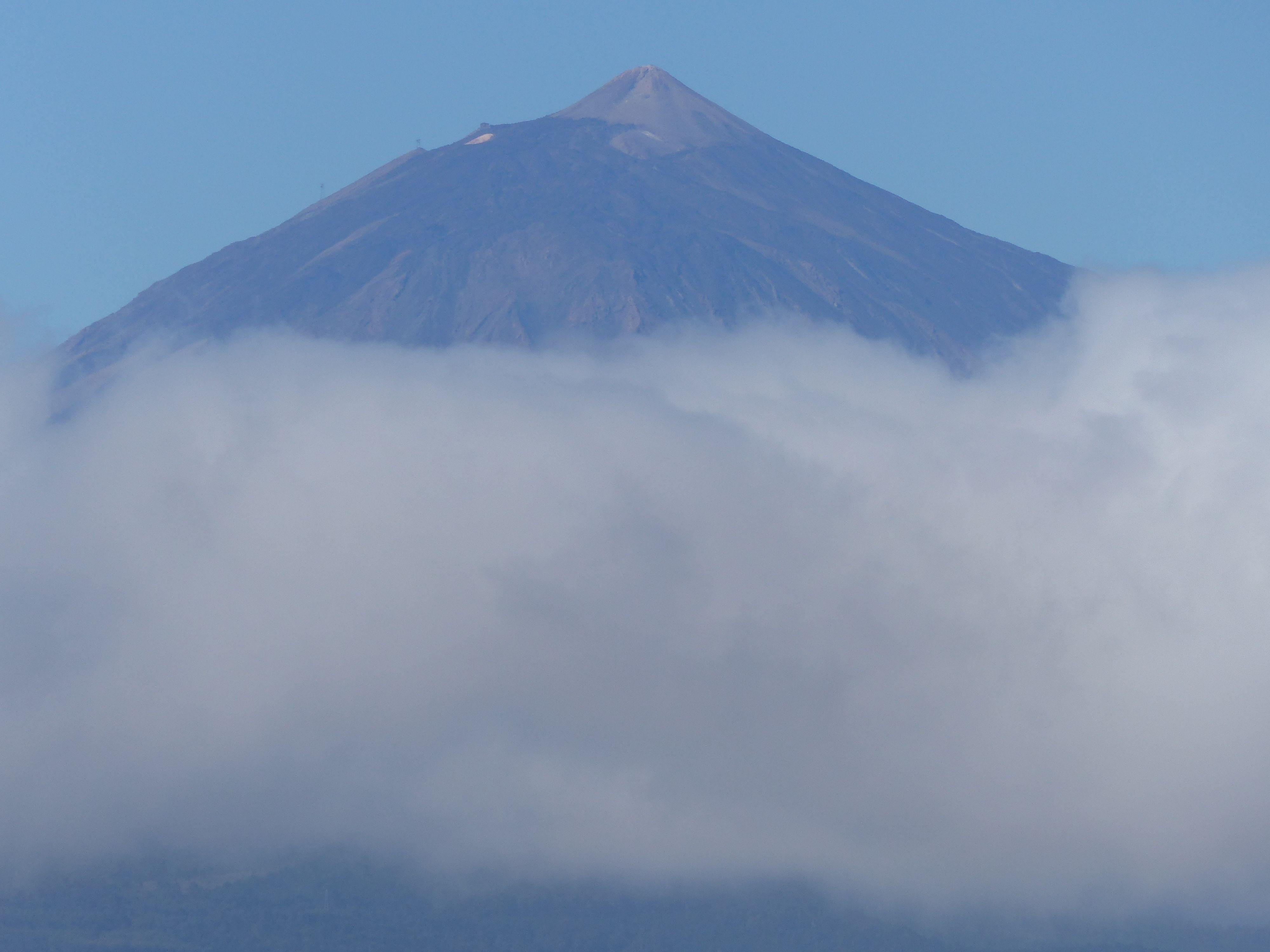 來了Tenerife一週卻只能遠眺Teide,超丟臉的...